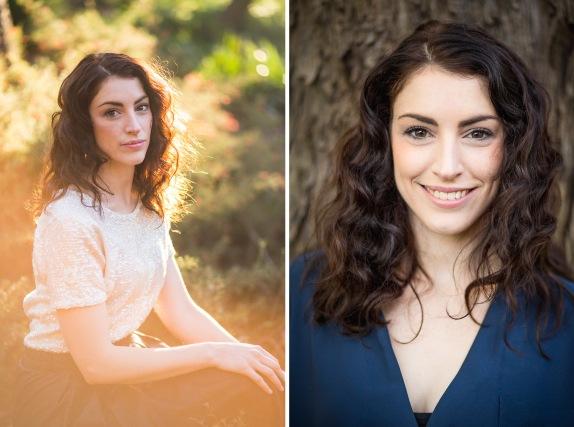 Actress Headshot for Gemma Sharpe