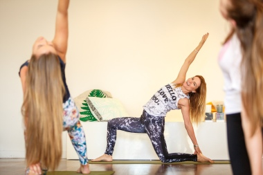Tamara Yoga - photographed for Town of Claremont