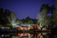 The function centre in the evening, pre gala night dinner