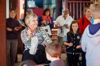 Deb 'Spoons' Perry hosting a children's workshop